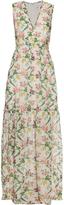 Erdem Shane Strawberry-print cotton dress