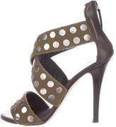 Giuseppe Zanotti Studded Cross Strap Sandals