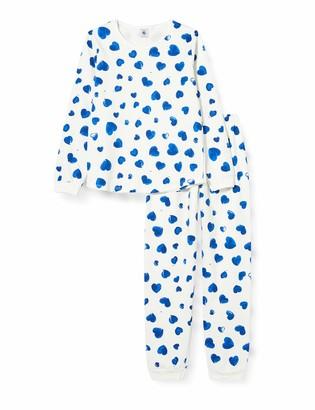 Petit Bateau Girl's 5752901 Sleepsuit