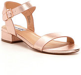 Steve Madden Cache Leather Buckle Sandals