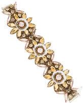 Jenny Packham Crystal Floral Bracelet
