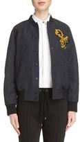 Kenzo Women's Jacquard Bomber Jacket