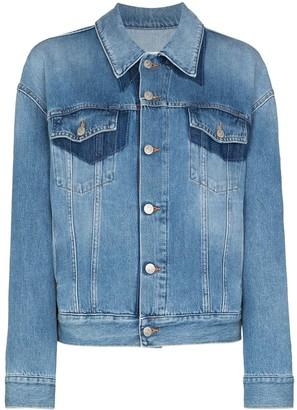 MM6 MAISON MARGIELA Two-Tone Denim Jacket