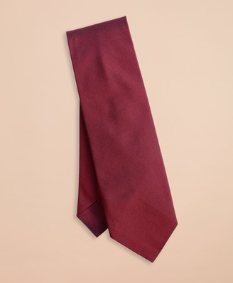 Brooks Brothers Solid Jaspe Silk Tie