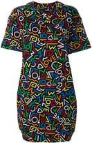 Love Moschino Love printed T-shirt dress