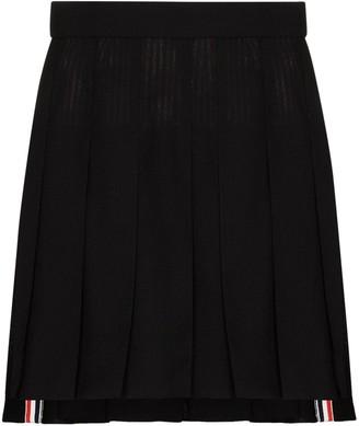 Thom Browne Pleated Wool Skirt