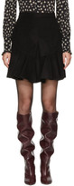 Isabel Marant Black Parma Miniskirt