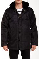 Obey Winston Faux Fur Trimmed Jacket
