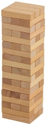 Jenjo 54 Piece Mini Jenjo Outdoor Wooden Block Game 27cm