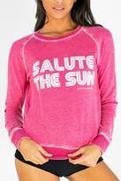 Spiritual Gangster Pink Sweatshirt