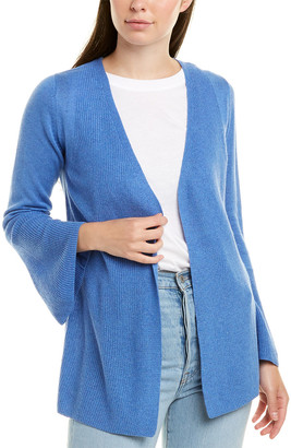 Hannah Rose Silk & Cashmere-Blend Cardigan
