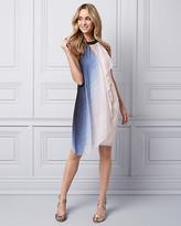 Le Château Ombre Knit Halter Cocktail Dress