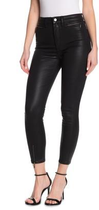 Joe's Jeans The Bella Ankle Crop Zip Hem Skinny Pants