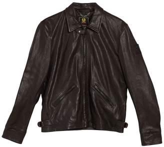 Belstaff Cooper Collared Leather Jacket
