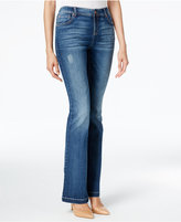 INC International Concepts Indigo Wash Slim Flare Jeans, Only at Macy's