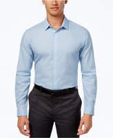 INC International Concepts Men's Non Iron Cross Hatch Cotton Shirt, Created for Macy's