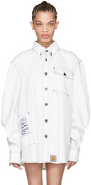 Vetements White Carhartt Edition Workwear Shirt