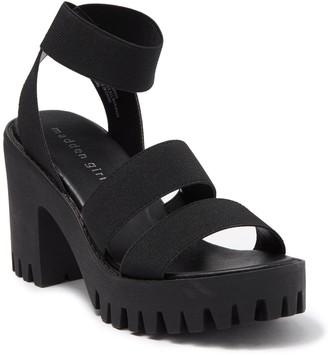 Madden-Girl Sohoo Platform Ankle Strap Sandal