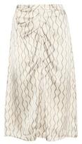 Isabel Marant Sliven Silk Midi Skirt