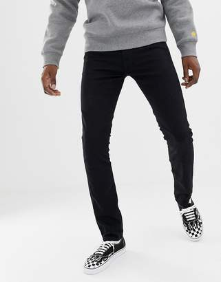 Carhartt Wip WIP rebel slim stretch trousers-Black