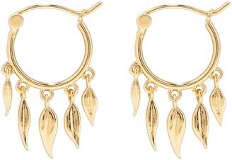Gorjana Autumn Flutter Huggie Hoop Earrings