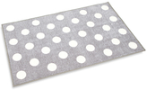 Kit For Kids Polka Dot Rug, Grey