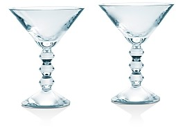 Baccarat Vega Martini Glass, Set of 2