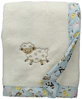 Trend Lab Framed Receiving Blanket, Baby Barnyard by