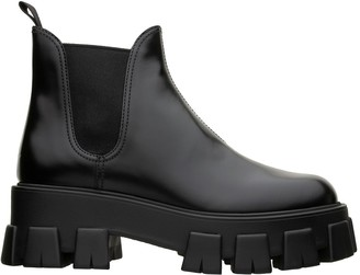 Prada Chunky Sole Ankle Boot