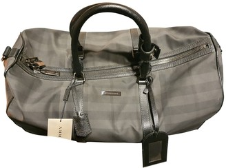 Burberry Grey Cloth Bags