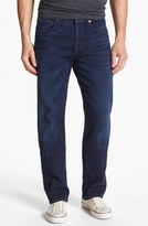 7 For All Mankind 'Carsen - Luxe Performance' Easy Straight Leg Jeans (Blue Ice)