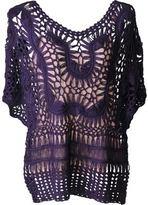 J. Furmani Women's Designer Collection Knitted/Crochet Top