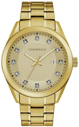 Caravelle by Bulova Men's Crystal Watch