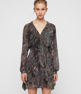 AllSaints Nichola Scarf Dress