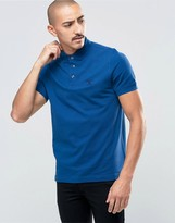 Barbour Polo Shirt With Beacon Logo In Blue