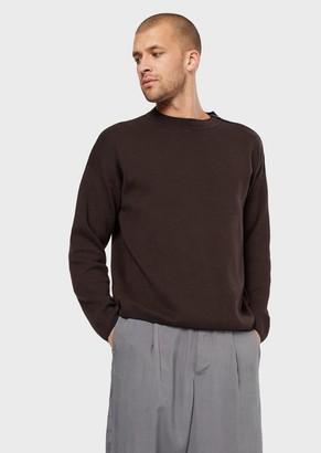 Giorgio Armani Sweater With Zipped Shoulder