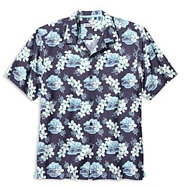 Tommy Bahama Coconut Point Surf Shack Regular Fit Camp Shirt