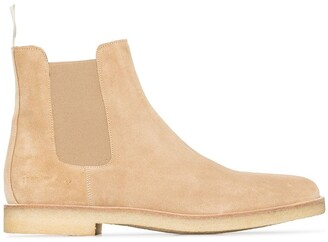 Common Projects nude Cheslsea boots