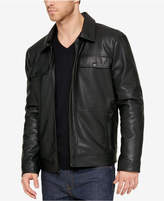 Kenneth Cole Men's Parker Faux Leather Jacket