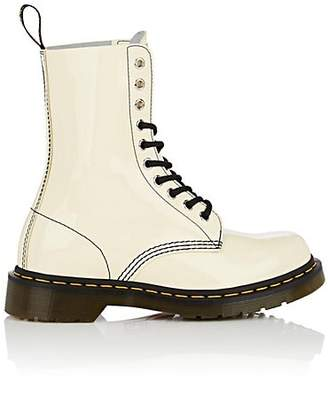 Marc Jacobs Women's Leather Lace-Up Boots - Beige, Tan