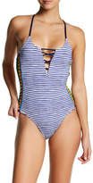 Sperry Striped One-Piece Swimsuit