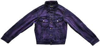 Fiorucci Purple Denim - Jeans Jackets