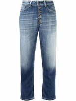 Thumbnail for your product : Dondup Low-Rise Stonewashed Boyfriend Jeans