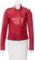 Gucci Casual Leather Jacket