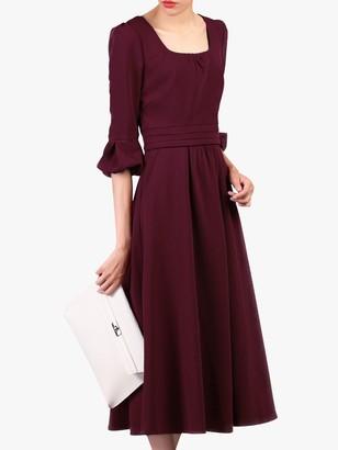Jolie Moi Bell Sleeve Dress