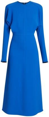 Victoria Beckham Dolman Crepe Midi Dress