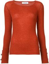 Prabal Gurung cashmere crew neck jumper - women - Cashmere - S