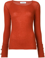 Prabal Gurung crew neck jumper - women - Cashmere - S