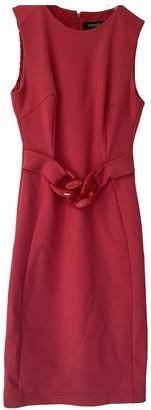 Versace Pink Wool Dresses