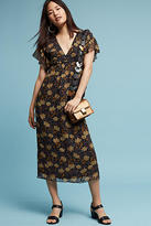 Blue Tassel Hattie Floral Dress